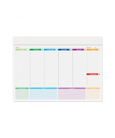 MINI PLANNING MULTICOLOR